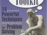 The Thinker's Toolkit by Morgan Jones