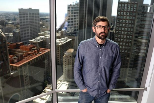 """Louis Theroux, writer and star of documentary """"My Scientology Movie,"""" poses for a portrait in Los Angeles, California, U.S., March 7, 2017. Picture taken March 7, 2017.  REUTERS/Lucy Nicholson"""